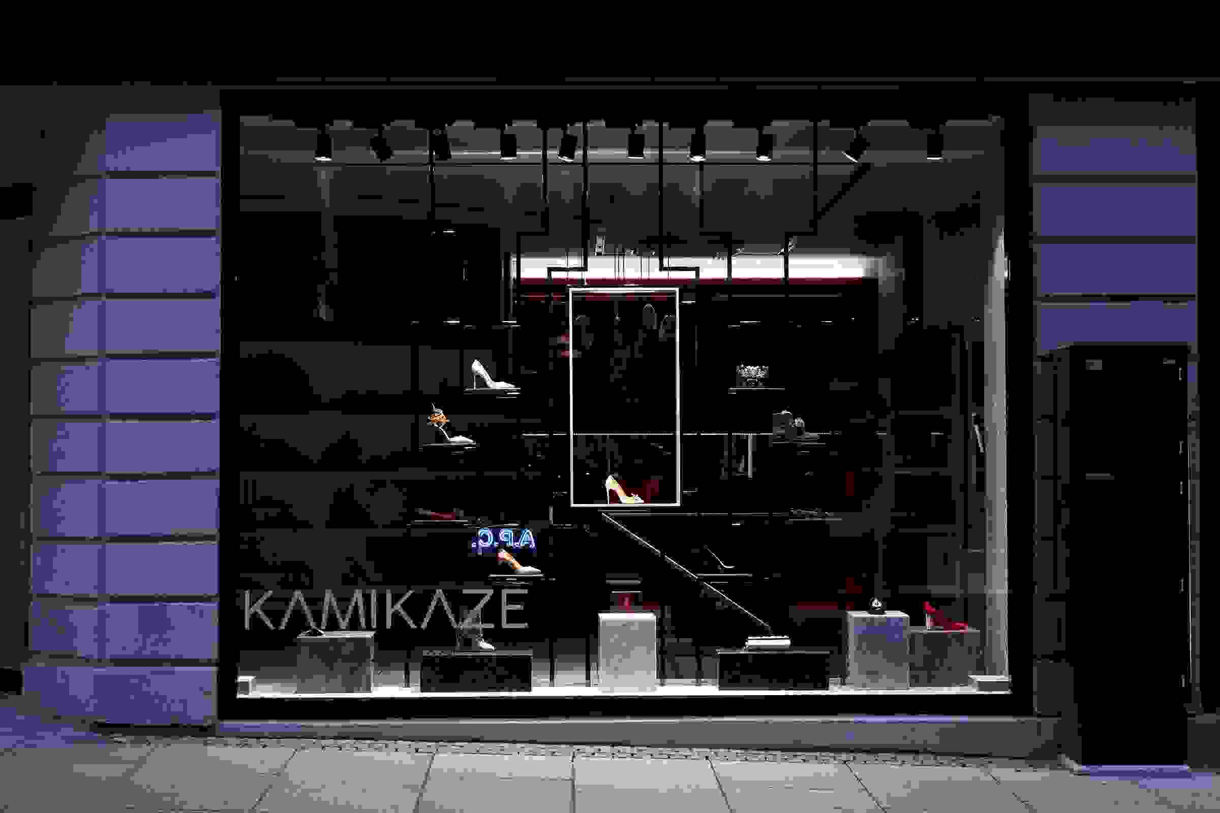Kamikaze luxury shoes