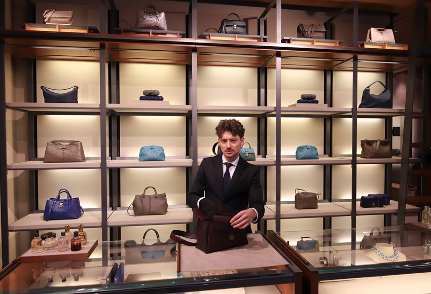 Store Manager Ole Thomas from Bottega Veneta