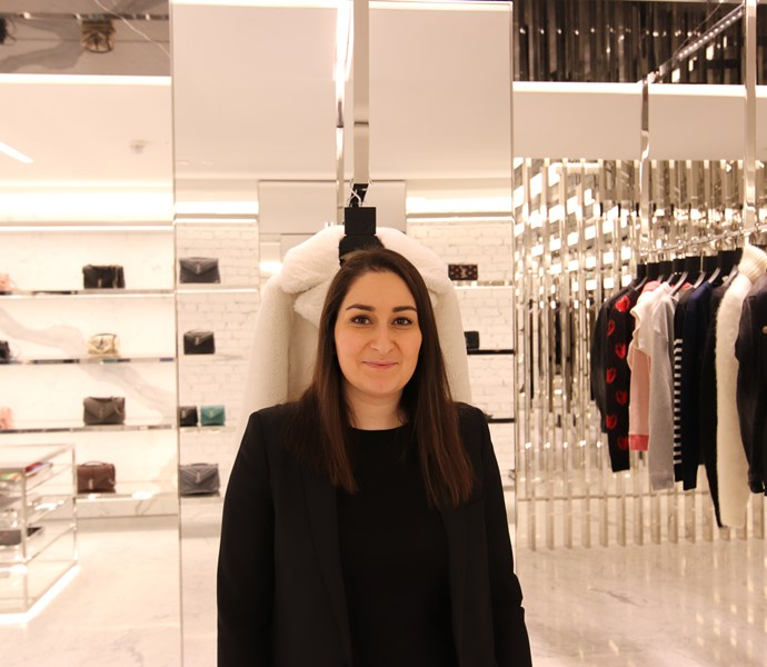 Store Manager Samira from Saint Laurent